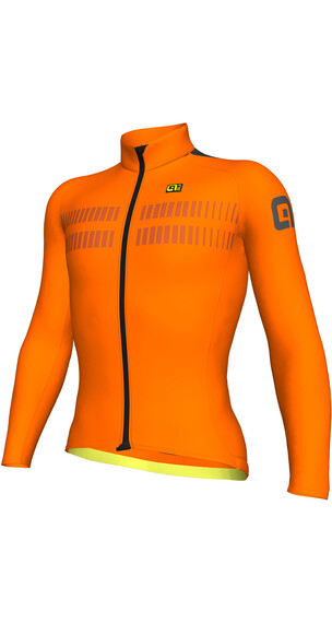 Alé Cycling PRR Clima Protection 2.0 Warm Air Langermede Sykkeltrøyer Herre Orange